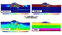地震時残留変形解析事例-4(FLIP)