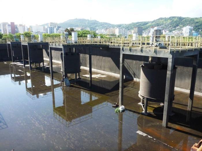 下水処理場の改修・拡張カザン