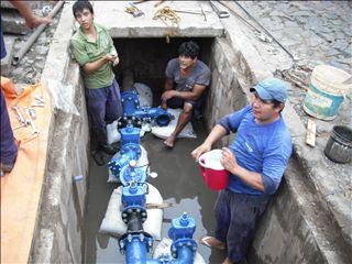 パラグアイ配水管理技プロ 01